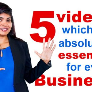 5 Videos That Are Absolutely Essential For Every Business